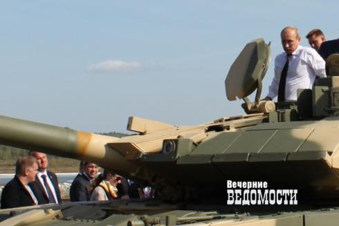 Уральцы решили защитить свою выставку вооружений от посягательств москвичей