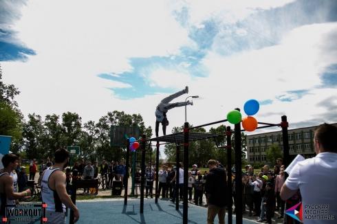 РМК открывает воркаут-площадки в Челябинской области