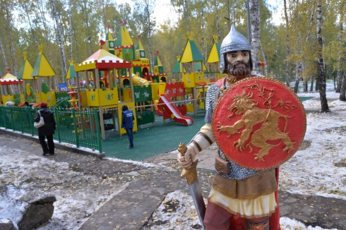 В Челябинске возродили «Поляну сказок»